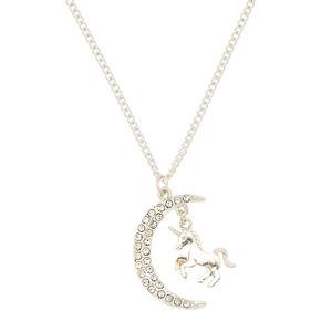 Majestic Celestial Unicorn Pendant Necklace,