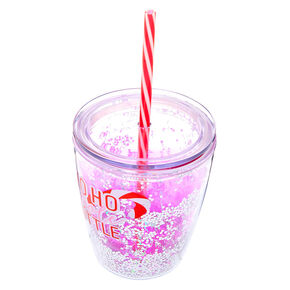 Ho Ho Whole Bottle To Go Cup - Pink,