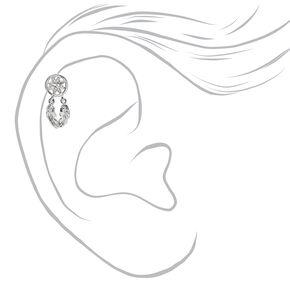 Silver 16G Dreamcatcher Cartilage Earrings - 3 Pack,