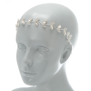 2-In-1 Vine Belt & Headwrap - Silver,