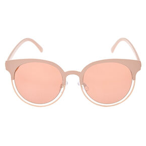 Blush Mod Round Sunglasses,