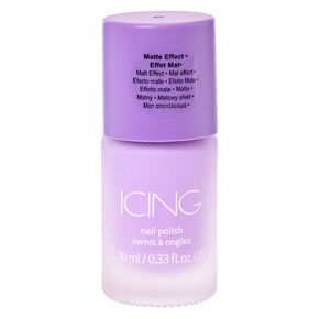 Sorbet Purple Matte Nail Polish,