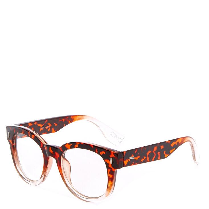 Retro Thick Tortoise Shell Glasses,