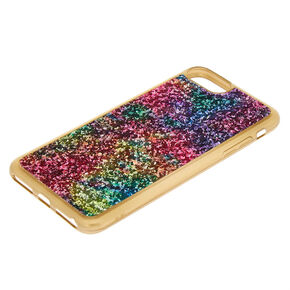Space Glitter Phone Case - Gold,