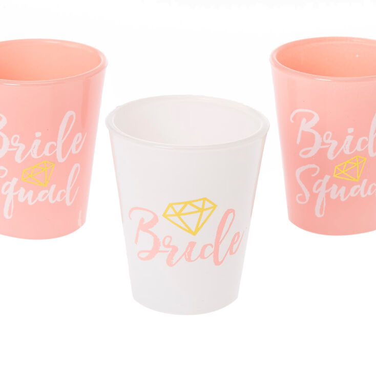 Pink Bachelorette Shot Glass Set - 5 Pack,