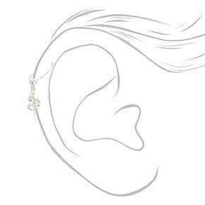 Sterling Silver 22G SnakeTragus Hoop Earring,