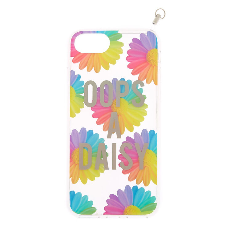 Oops A Daisy Phone Case With Lanyard - Fits iPhone 6/7/8/SE,