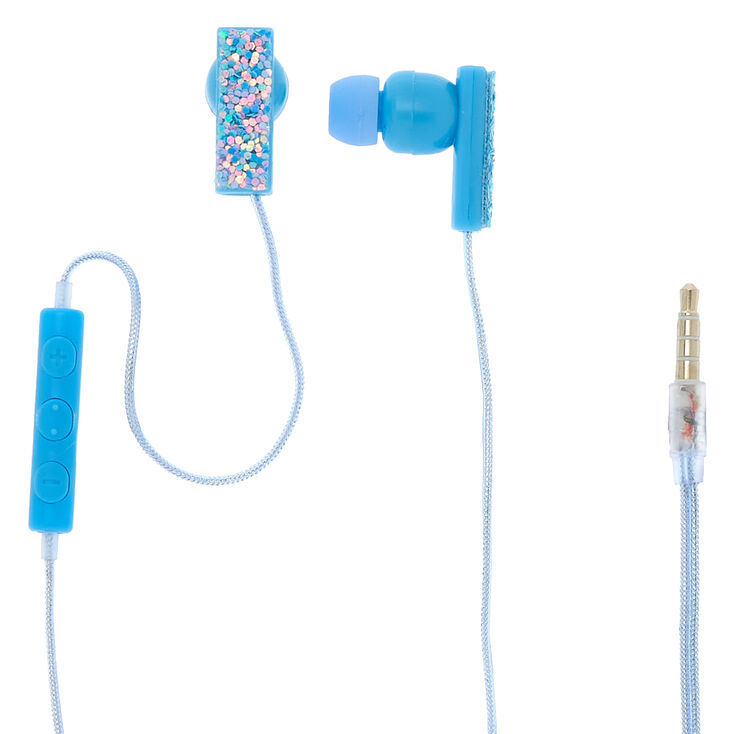 Ice Glitter Earbuds,