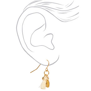 Gold Classic Beach Mixed Earrings - 9 Pack,