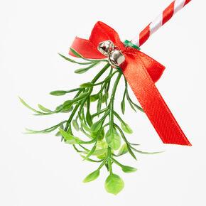 Mistletoe Bow Headband,
