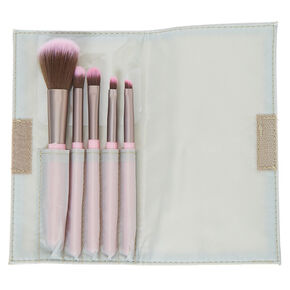 Bubblegum Makeup Brush Set - Pink, 5 Pack,