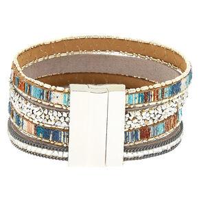 Desert Layered Statement Bracelet,
