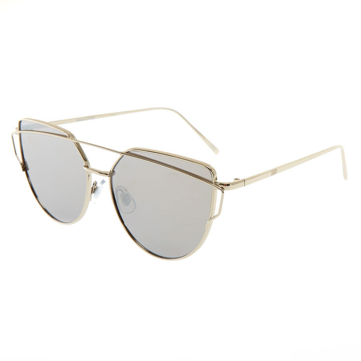 Round Cateye Sunglasses,