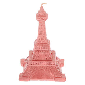 3D Eiffel Tower Candle - Pink,