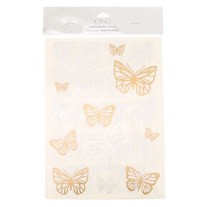 Large Butterfly Temporary Tattoos,