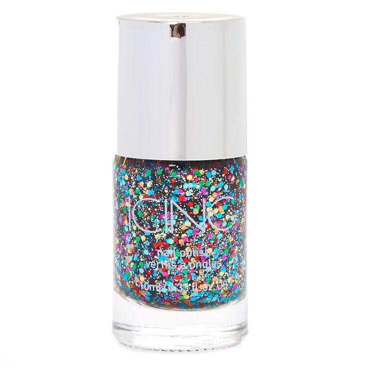 Rainbow Party Glitter Nail Polish,