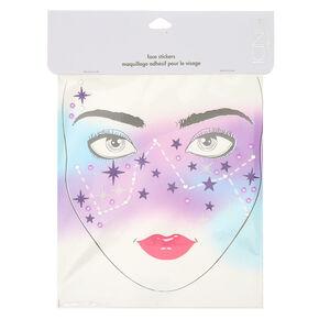 Cosmic Glitter Face Stickers,
