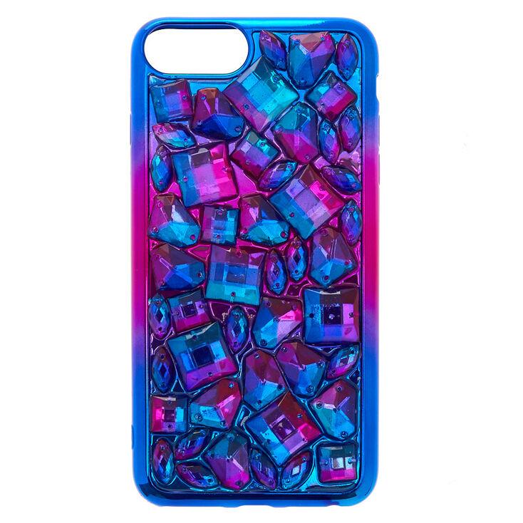 Purple Ombre Stone Phone Case,