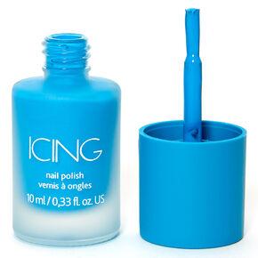 Matte Nail Polish - Neon Blue,