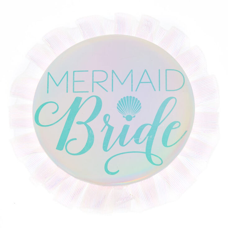 Mermaid Bride Button,