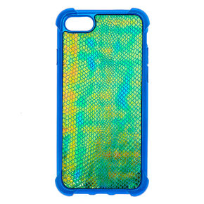 Snake Skin Phone Case - Blue,