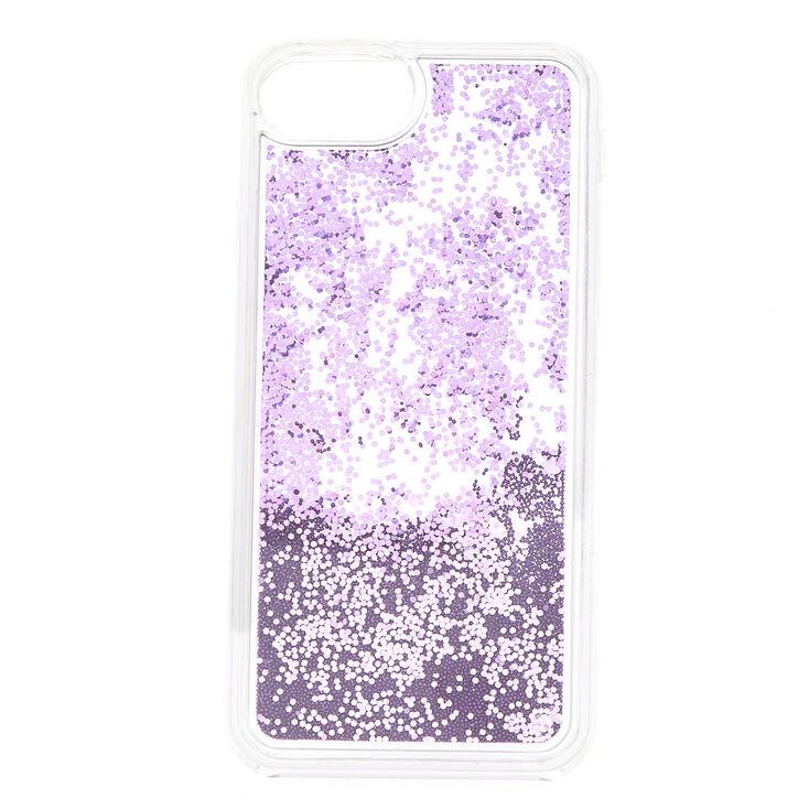 Glitter & Bead Shaker Phone Case - Fits iPhone 6/7/8 Plus,