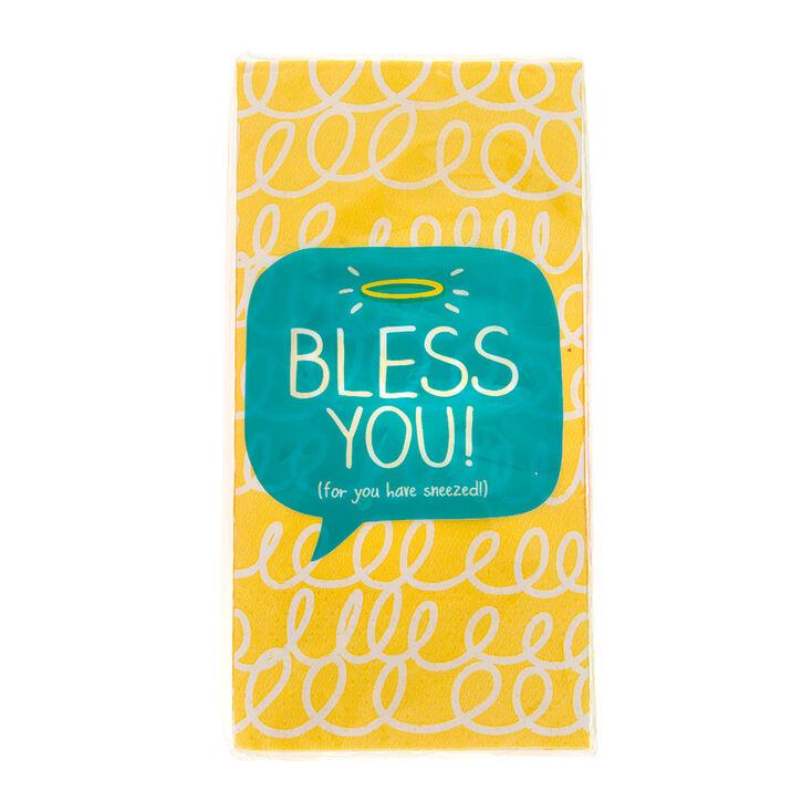 Bless You Pocket Tissues,