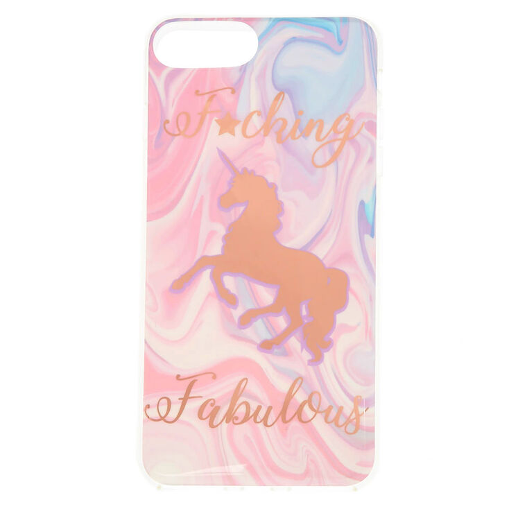 F*cking Fabulous Unicorn Phone Case - Fits iPhone 6/7/8 Plus,