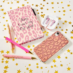 Pink Leopard On The Go Set,