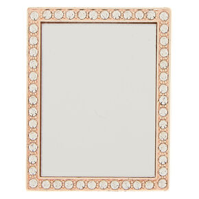 Rose Gold Mirror Phone Sticker,