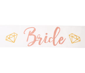 Bride Diamond Sash,