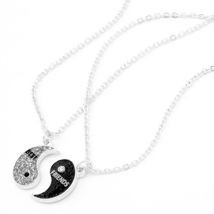 Best Friends Yin Yang Pendant Necklaces - 2 Pack,