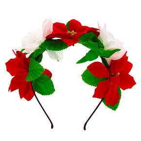 Poinsettia Headband - Red,
