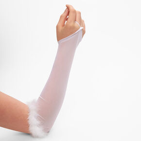 Angel Arm Warmers - White,