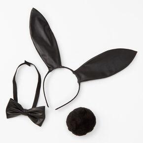 Black Bunny Costume Set - 3 Pack,