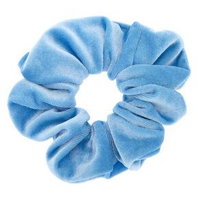 Velvet Hair Scrunchie - Sky Blue,
