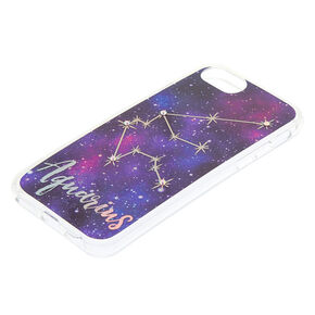 Aquarius Zodiac Phone Case - Fits iPhone 6/7/8 Plus,