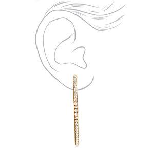 Gold 60MM Hoop Earrings - 3 Pack,