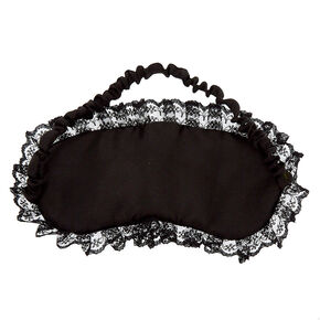 Lacey Naughty Sleeping Mask - Black,