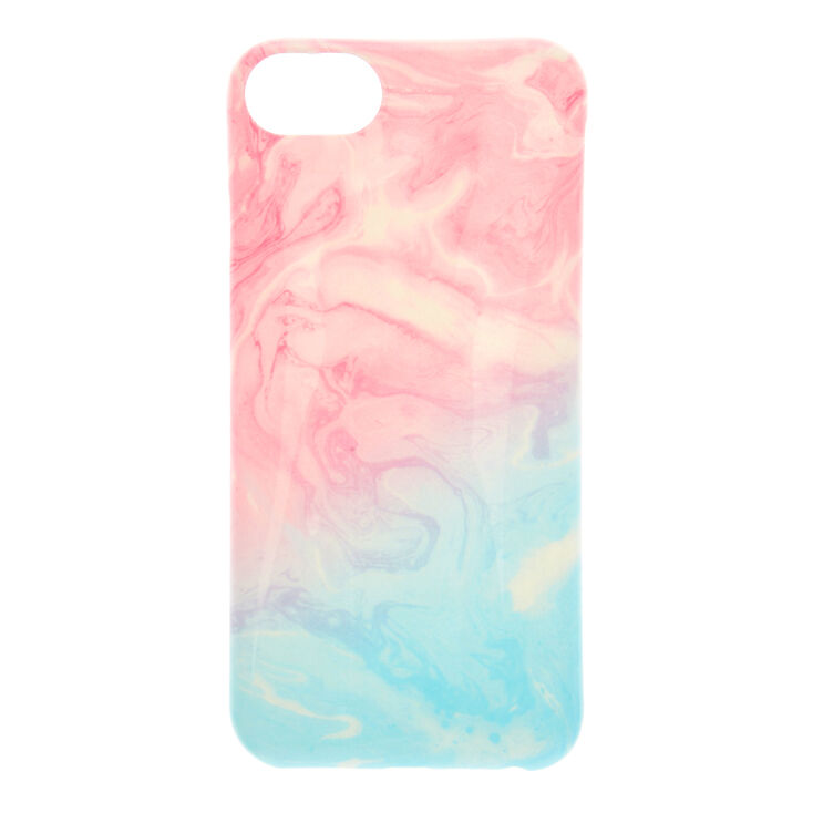 Pastel Marbled Swirl Phone Case - Fits iPhone 6/7/8 Plus,