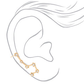 "1"" Constellation Mismatched Earring Set,"