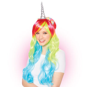 Rainbow Unicorn Wig,