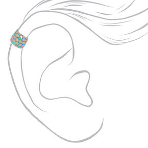 3 Pack Mermaid Ear Cuffs,