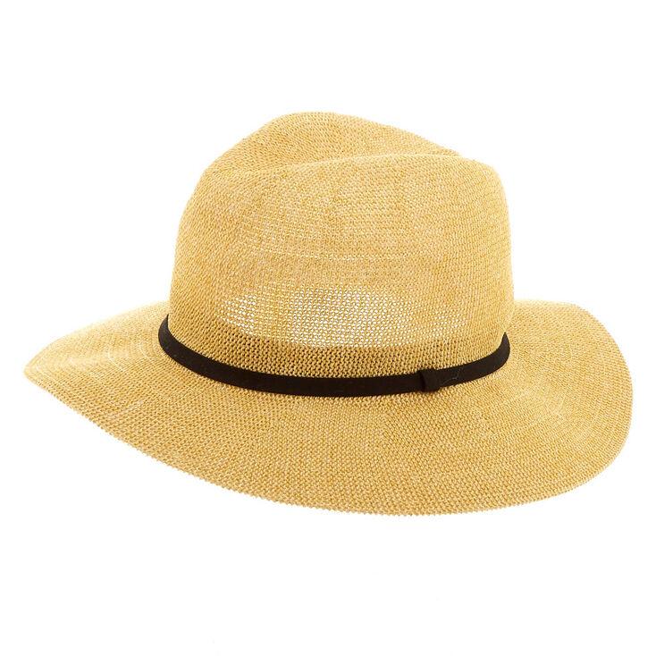 Panama Sun Hat - Natural,