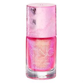 Shimmer Nail Polish - Pink Holo Glitz,