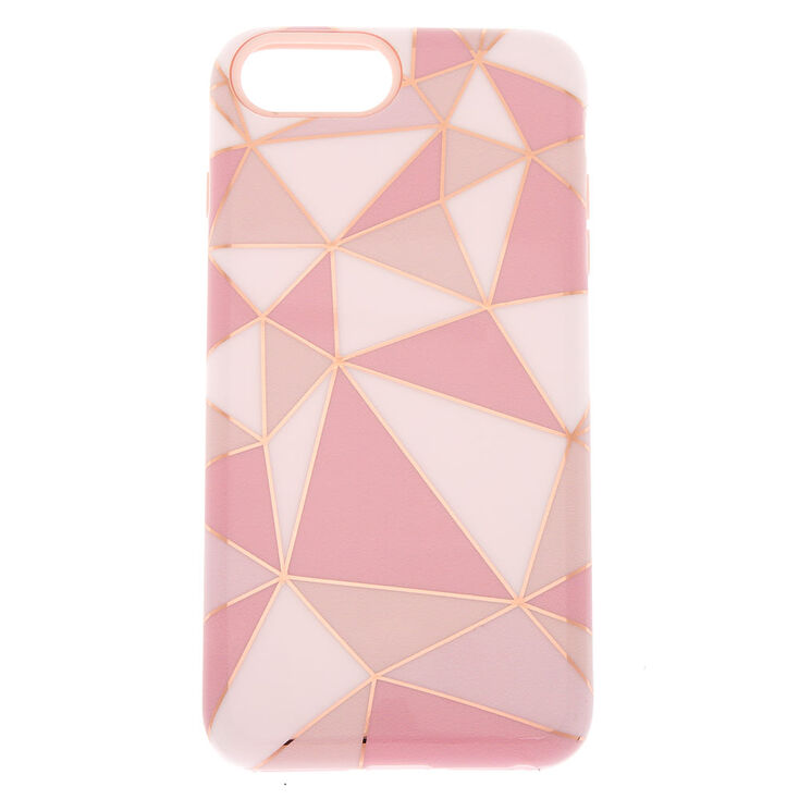 Geometric Protective Phone Case - Fits iPhone 6/7/8 Plus,