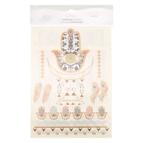Hamsa Art Temporary Tattoos,