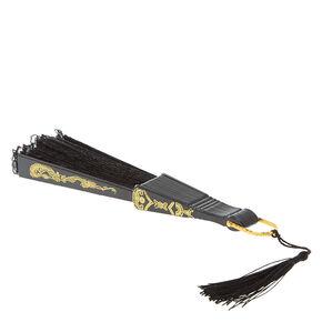 Black Lace Fan,
