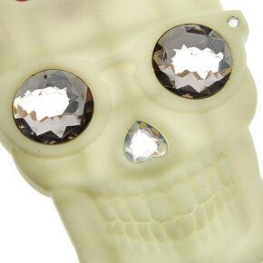 Glow In The Dark Skull Phone Case,
