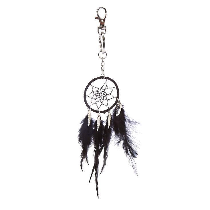 Black Dreamcatcher Keychain,
